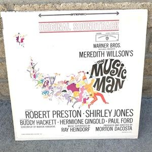The Music Man Vinyl Record